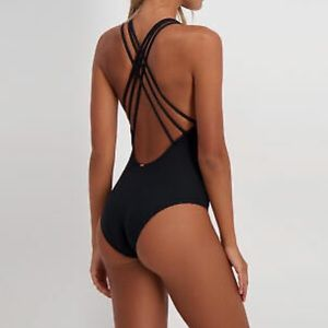 NWOT Topanga strappy one piece swimsuit